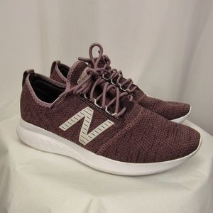 New Balance Coast V4 Purple Lace Up Sneakers Shoes